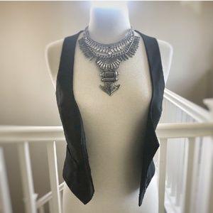 Zara Small Black Vest